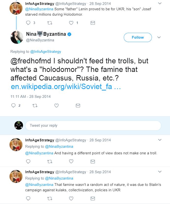 Nina Holodomor